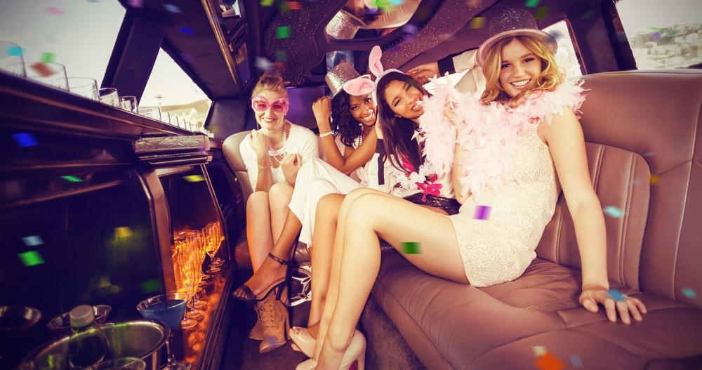 Pasadena Bachelor party limousine transportation