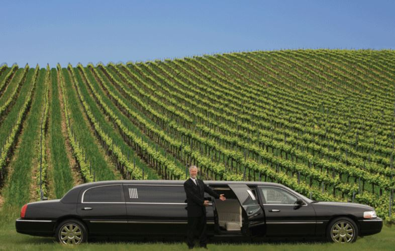 Pasadena winery tour limo service